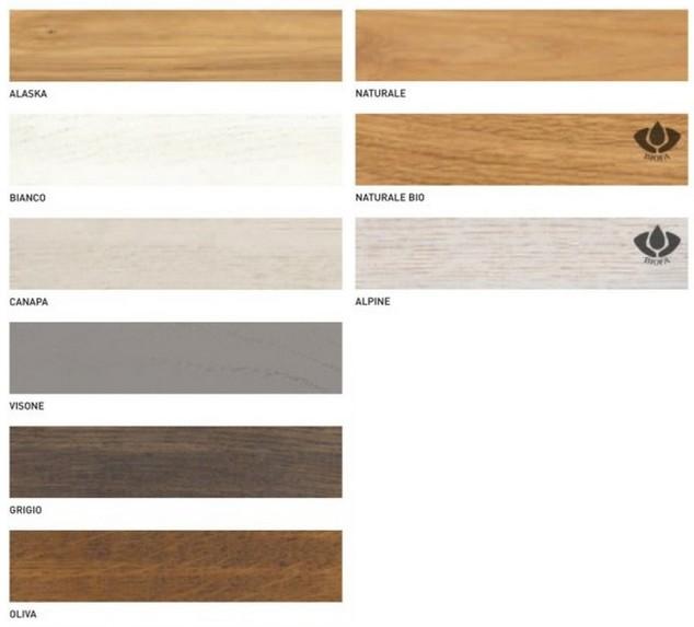 Tavolo Sidney di Altacorte in legno rovere moderno con piano vetro ...