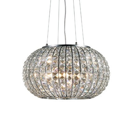 Lampadari A Sospensione Cristallo.Lampada A Sospensione Calypso Di Ideal Lux