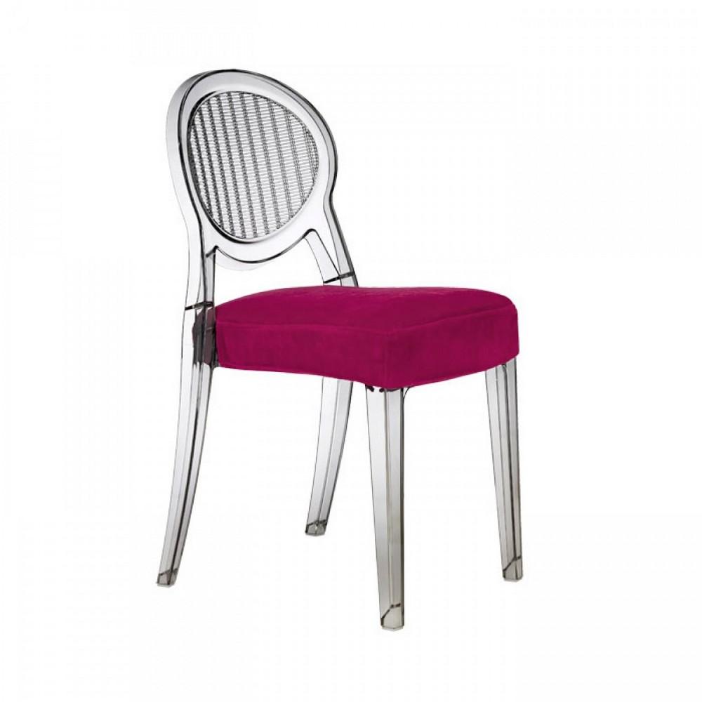 Cuscino imbottito in tessuto per sedie scab design for Sedie tessuto design