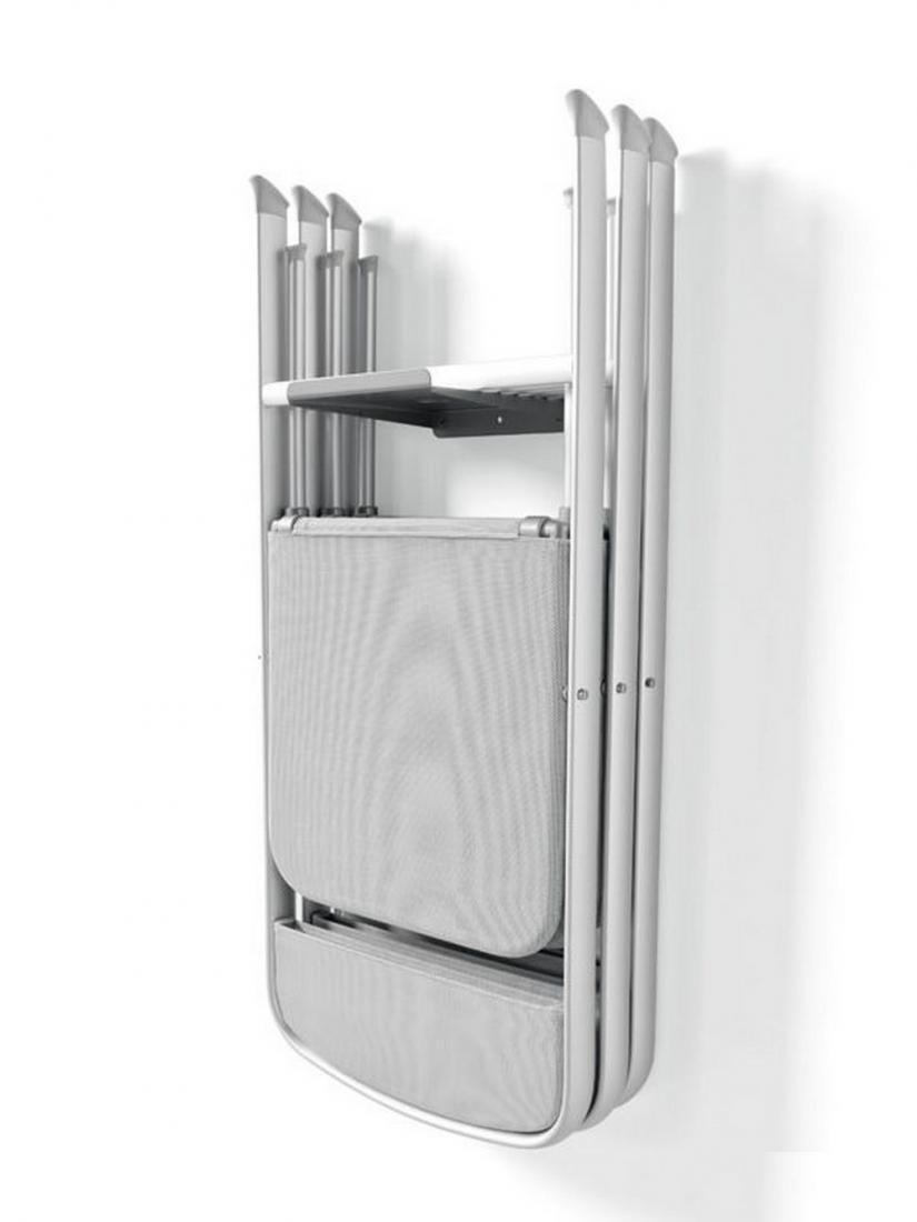 Gancio da fissare a muro con tasselli per appendere sedie ...