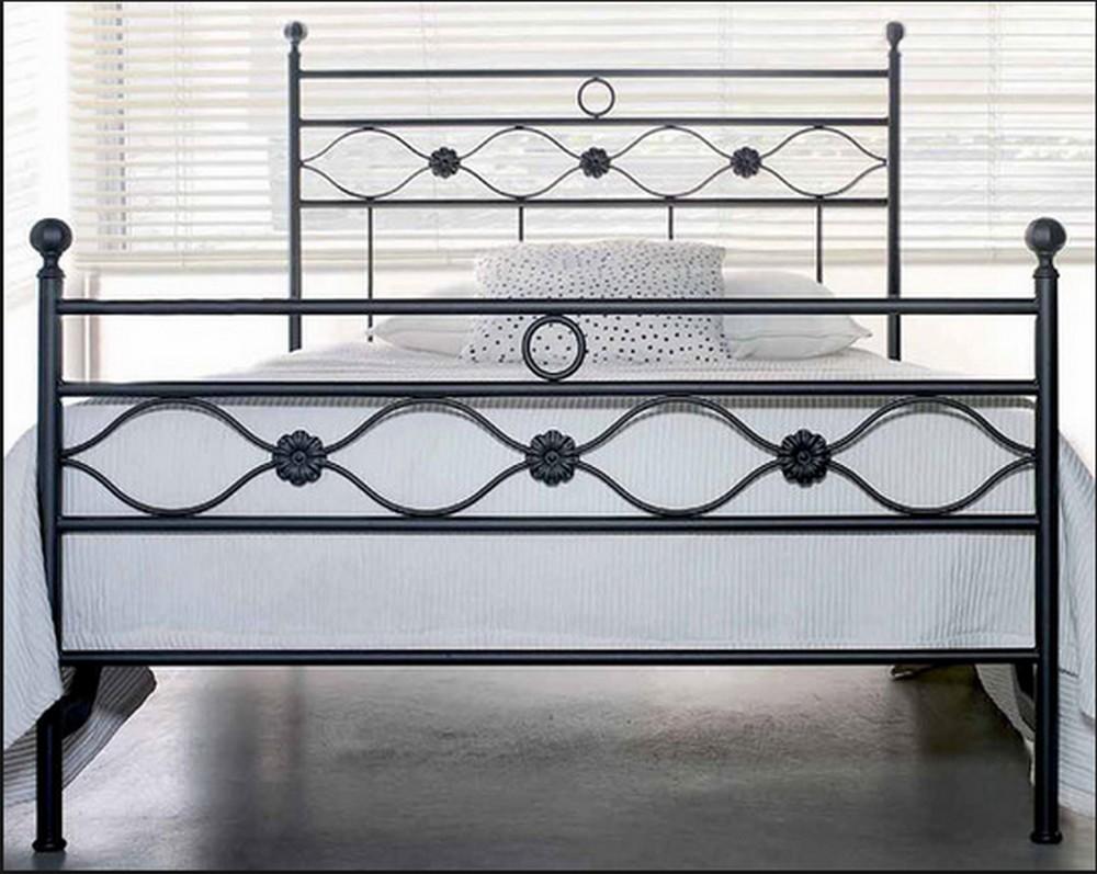Letto incanto da 120 in ferro battuto di cosatto in vari colori e finiture - Testiere letto ferro battuto ...
