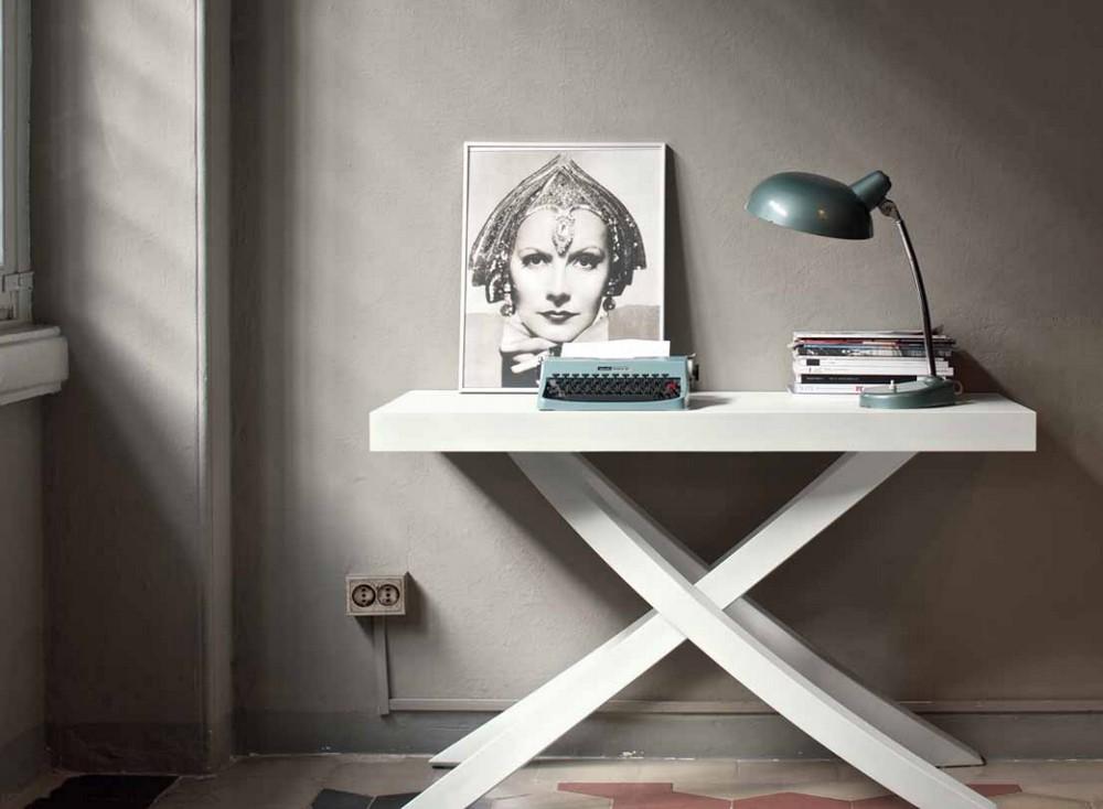 Tavolo consolle artistico di bontempi moderna ed elegante for Tavolo consolle design