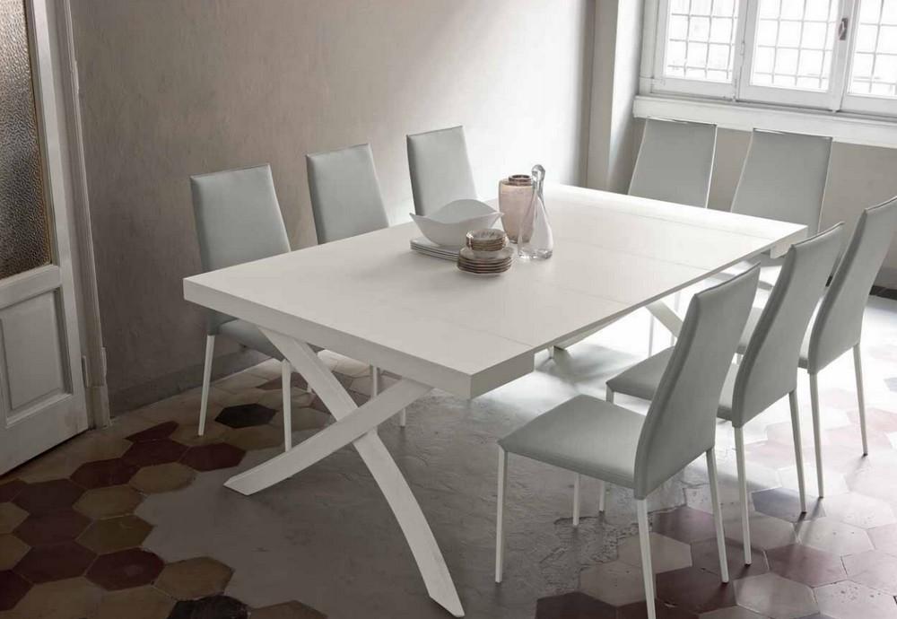 Tavolo consolle artistico di bontempi moderna ed elegante for Consolle tavolo