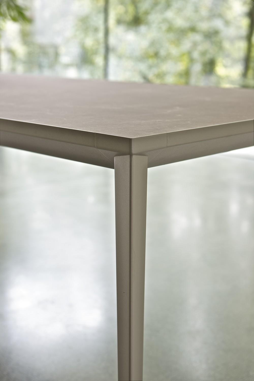 Tavolo allungabile effetto pietra echo bontempi: tavolo ...