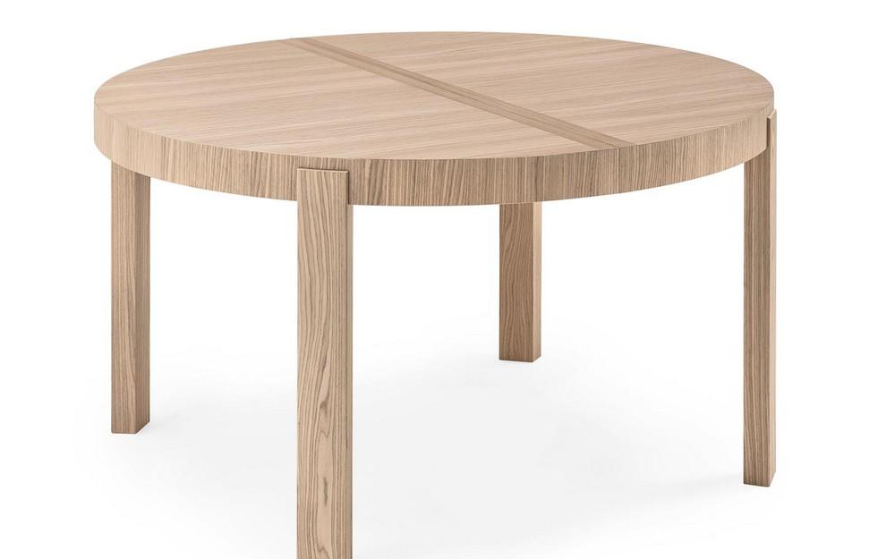 Tavolo rotondo planet calligaris idee per il design for Tavolo tondo allungabile moderno