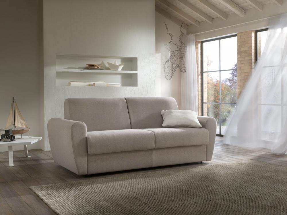 Il design comodo è la caratteristica del divano a letto Sven di Filis