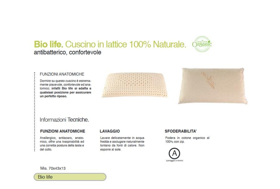 Cuscini In Lattice Opinioni.Cuscino In Lattice 100 Naturale Antibatterico
