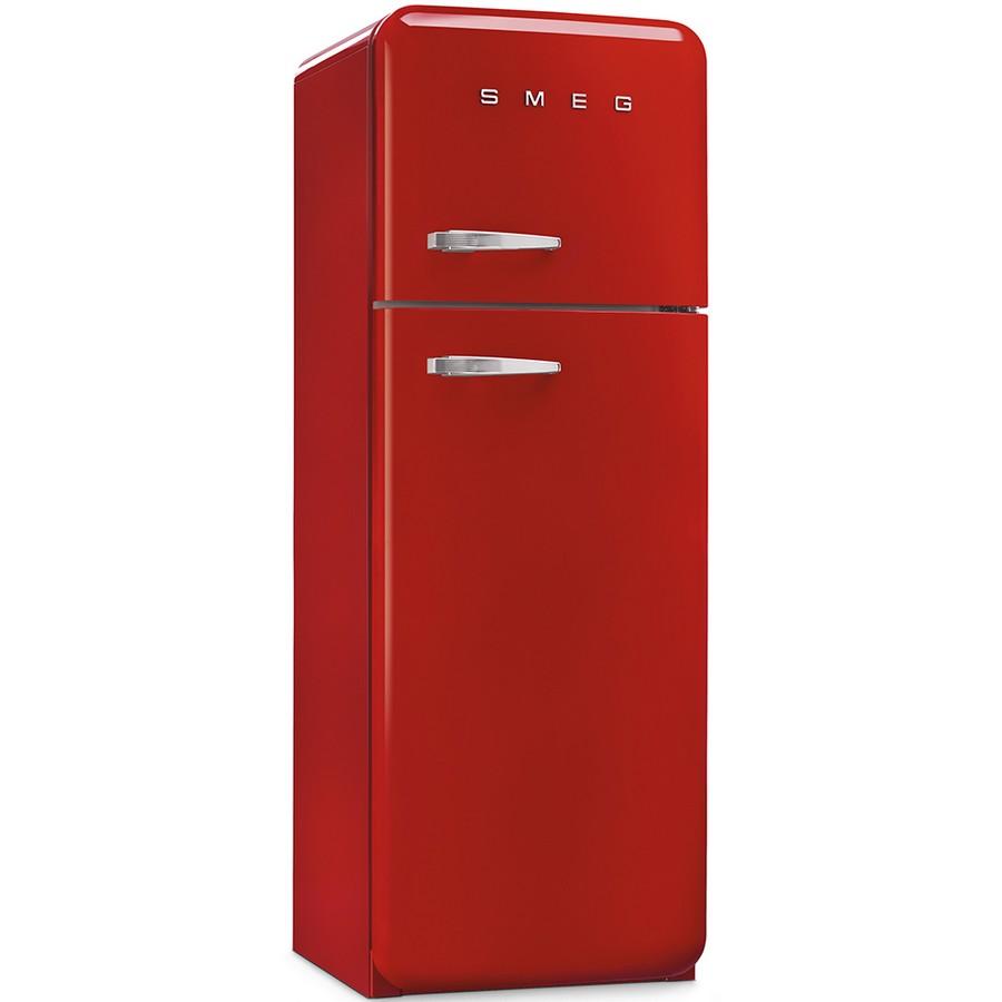Frigo colorato rosso Smeg vintage doppia porta