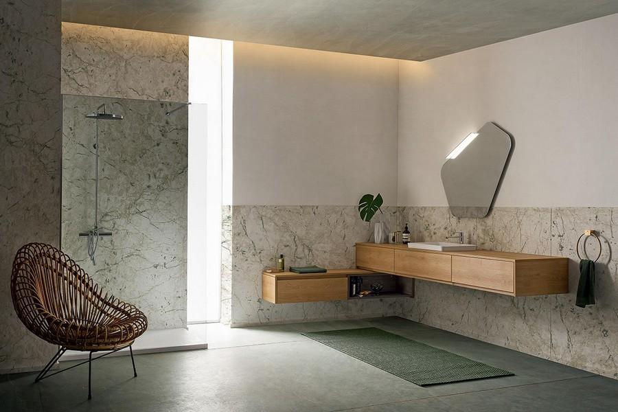 Bagno Elegante E Moderno.Mobile Da Bagno Pandora Di Kios In Effetto Legno Elegante E Moderno