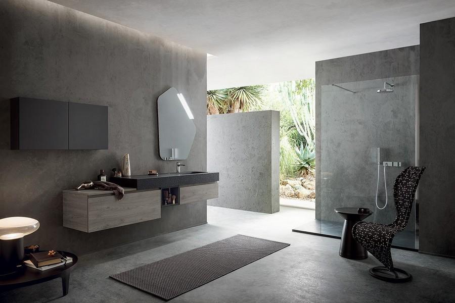Bagno Elegante E Moderno.Mobile Da Bagno Pandora Di Kios In Legno Elegante E Moderno