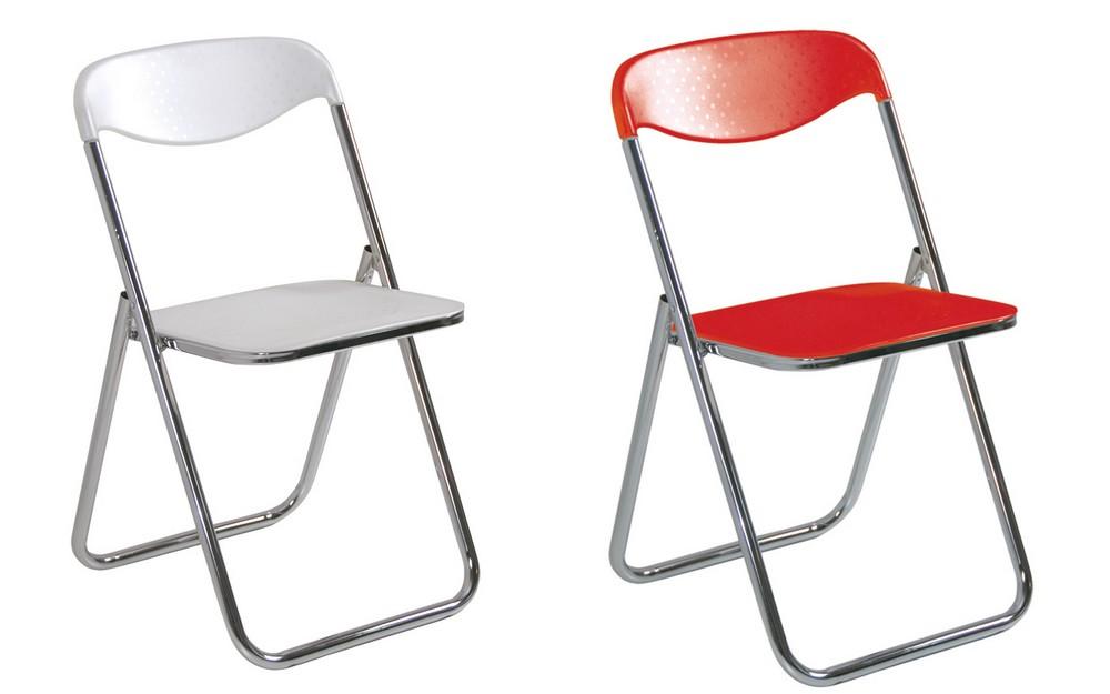 Sedie Di Plastica Pieghevoli.Sedia Pieghevole In Plastica Leggera Con Seduta Sempitraspirante