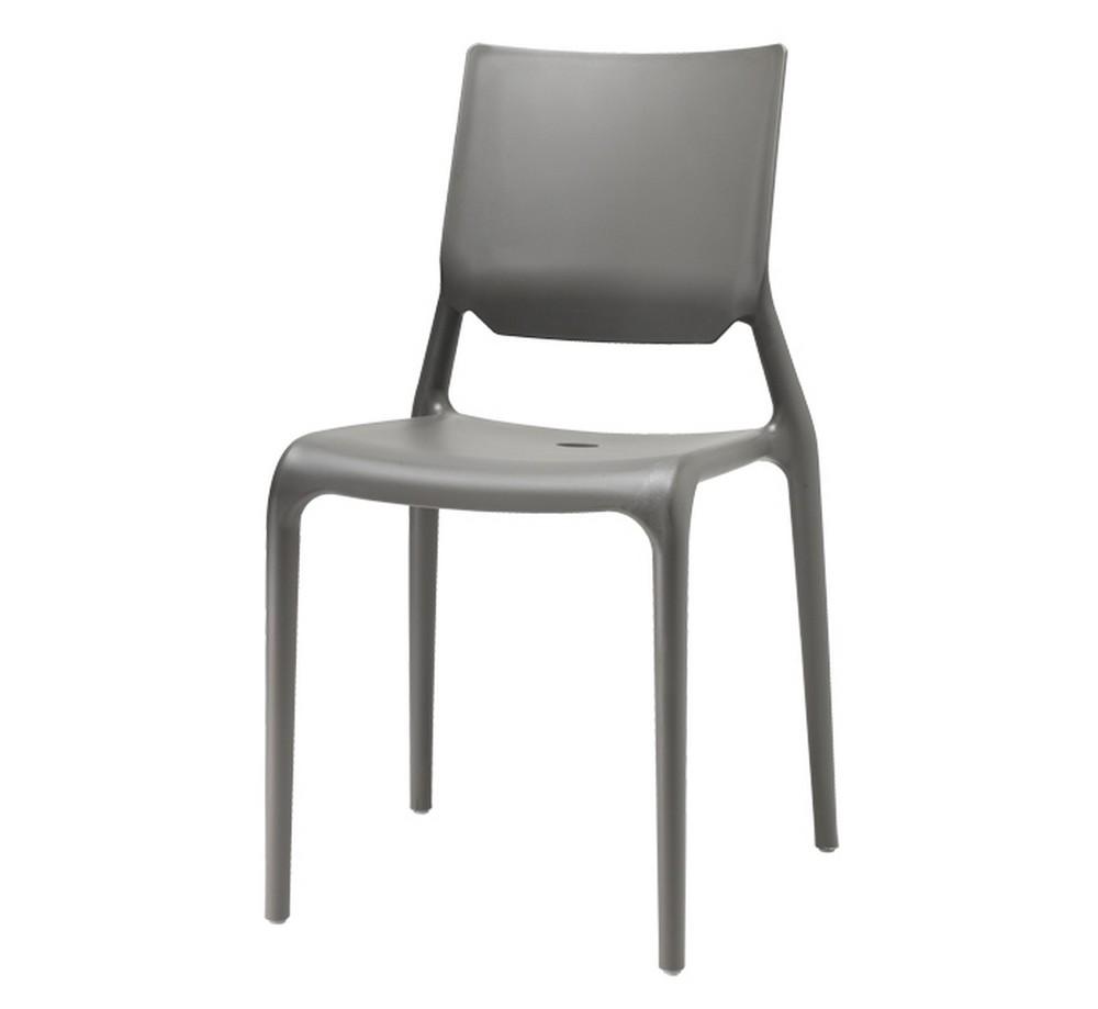 Sedia Sirio di Scab Design, impilabile in plastica in vari colori