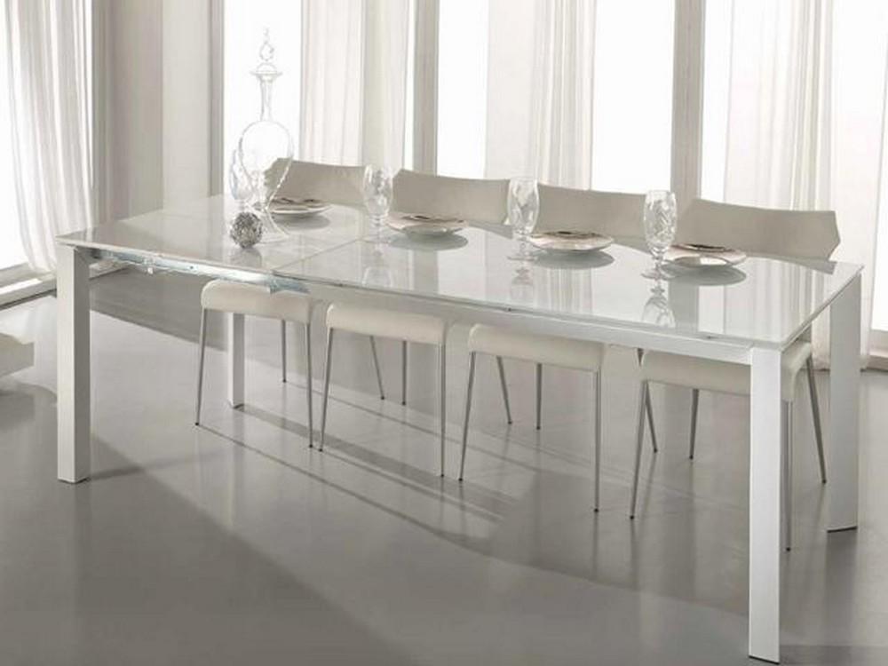 Tavoli Soggiorno Mercatone Uno.Tavolo Account Stones 140 Base In Metallo Verniciato E Piano Vetro