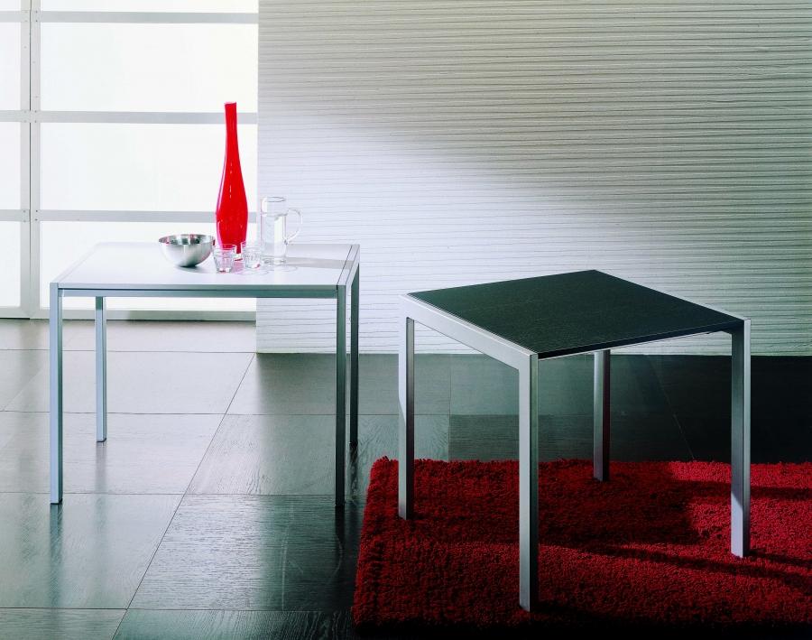 Tavolo Allungabile Ciak Di Ingenia Bontempi Quadrato O Rettangolare