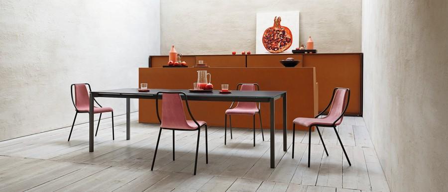 Tavolo More di Midj allungabile in diverse dimensioni