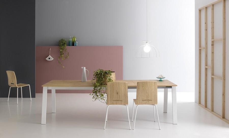 Tavolo Delta di Point House allungabile funzionale da cucina