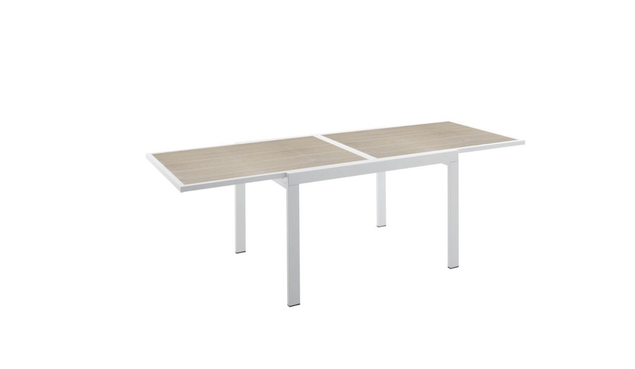 Tavolo Quadrato Allungabile Bianco.Tavolo Quadrato Marte Di Poinhouse Versatile E Funzionale