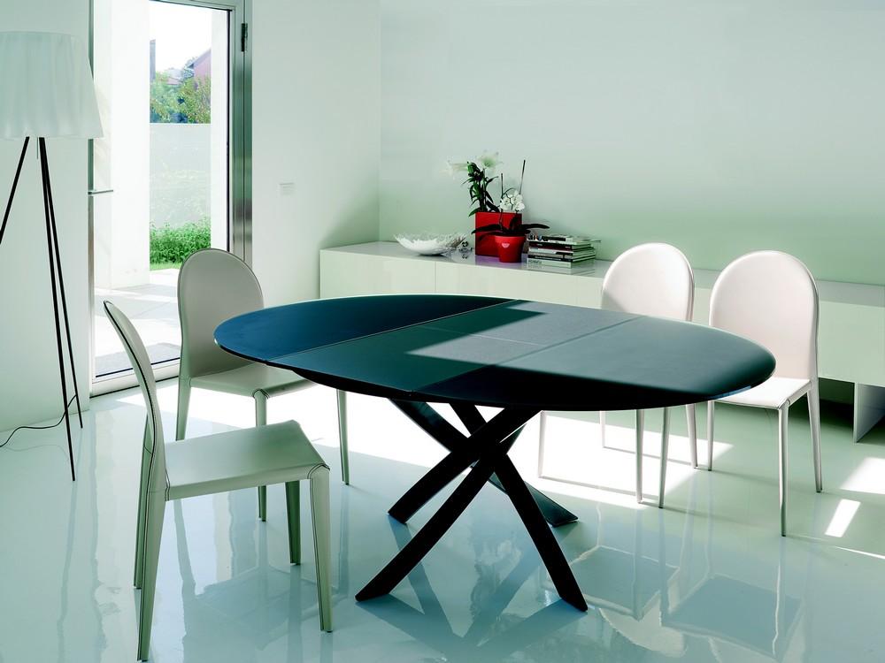 Tavoli tondi allungabili moderni fabulous aliante with for Tavoli rotondi allungabili moderni