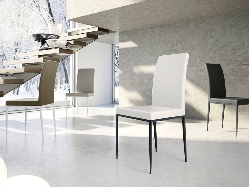 Sedia elegante moderna accogliente comoda cofortevole for Sedia design comoda