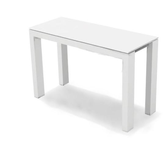 Tavolo a consolle Sigma di Calligaris 49 x 100 allungabile in legno