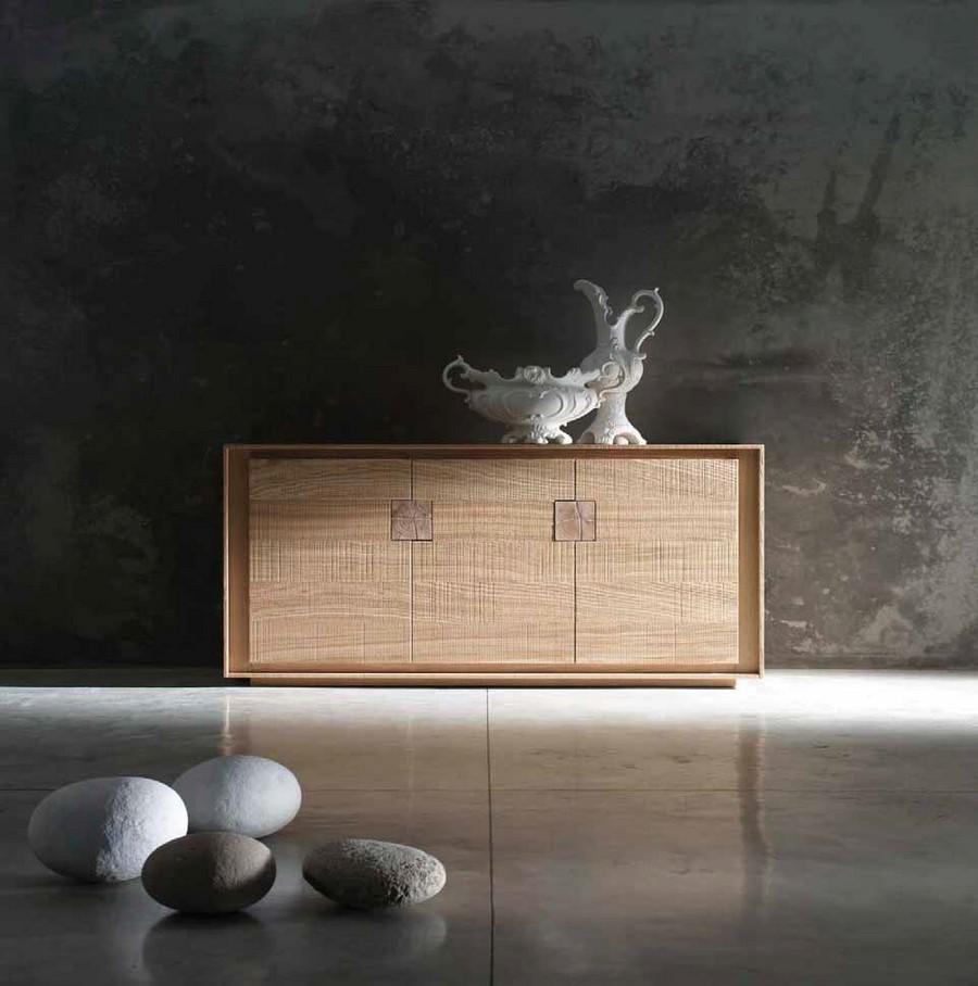 Credenza Da Esterno In Legno : Credenza da salotto o soggiorno a e ante in legno pregiato