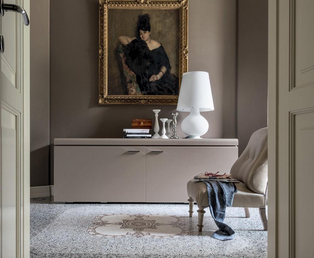 Madia Goya di Tonin Casa laccata moderna ideale per soggiorno e sale ...