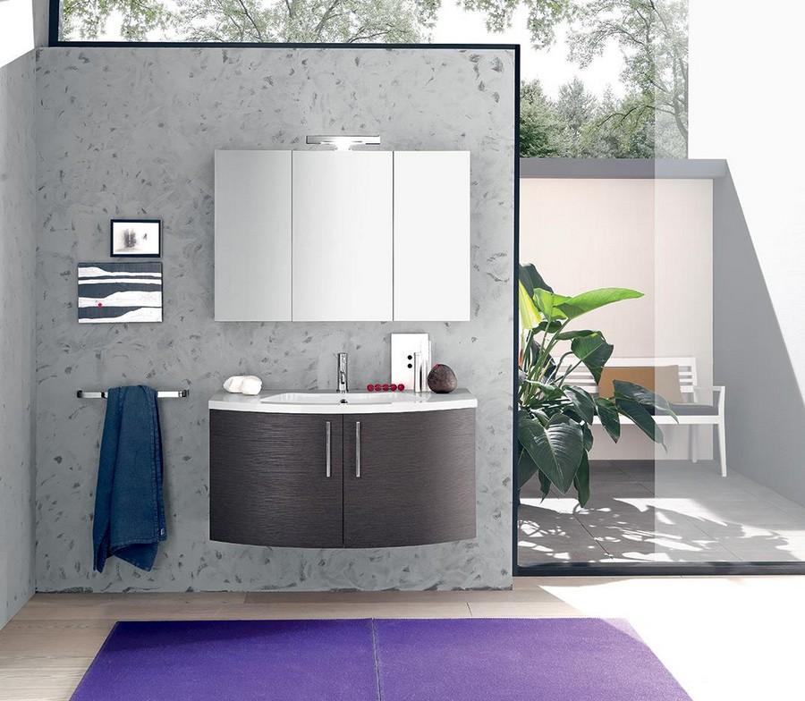 Mobile bagno arco kios elegante e moderno for Mobile da bagno