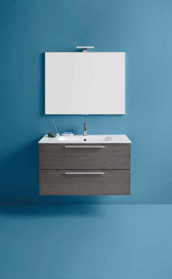 Mobile da bagno dado di kios semplice e elegante - Bagno elegante moderno ...