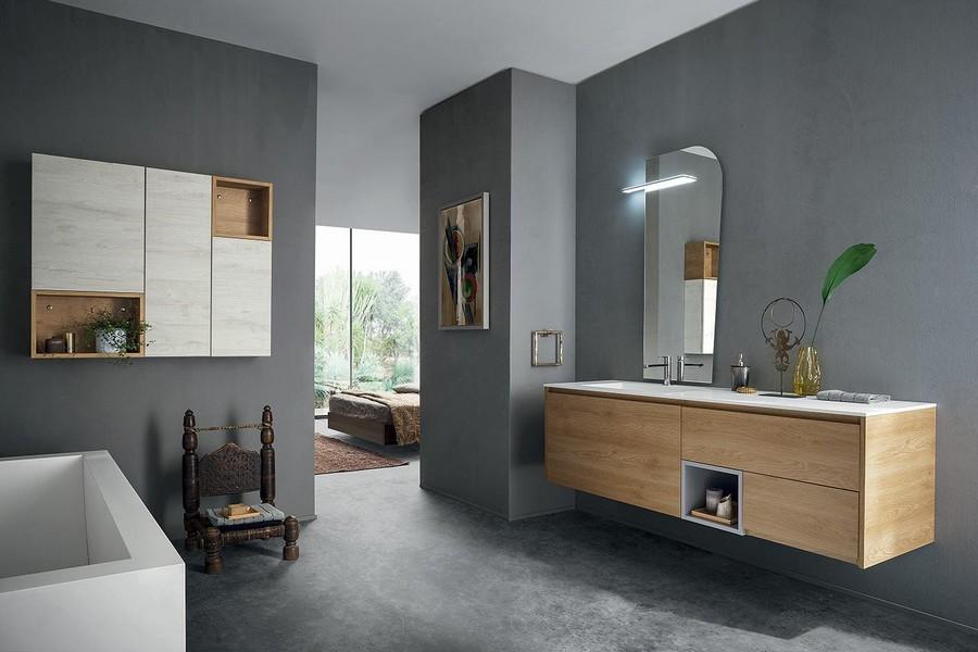 Mobile da bagno pandora di kios elegante e moderno for Bagni arredo prezzi