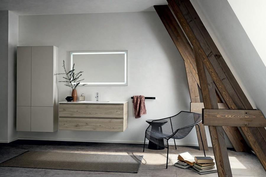 Mobile da bagno pandora di kios elegante e moderno for Arredamento moderno elegante