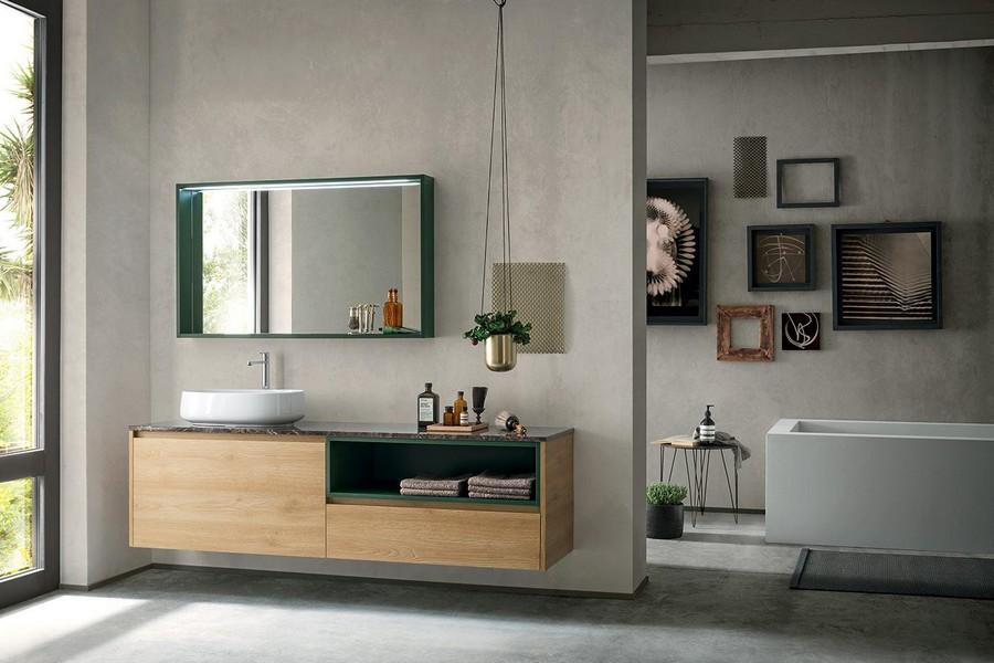 Mobile da bagno Pandora di Kios elegante e moderno