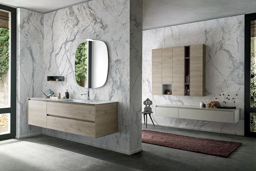 Mobile da bagno pandora di kios elegante e moderno - Mobile da bagno ...