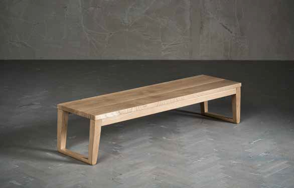 Panca clover di altacorte in legno da interno - Panca da interno ...