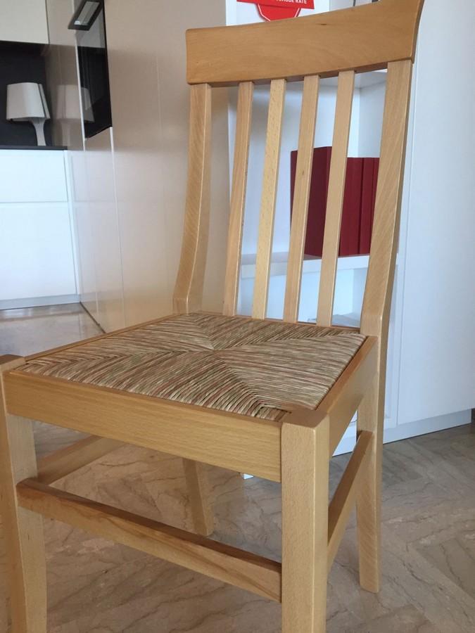 Sedute Per Sedie Di Legno.Sedia In Legno Di Faggio Camilla Di Arredamento Pari