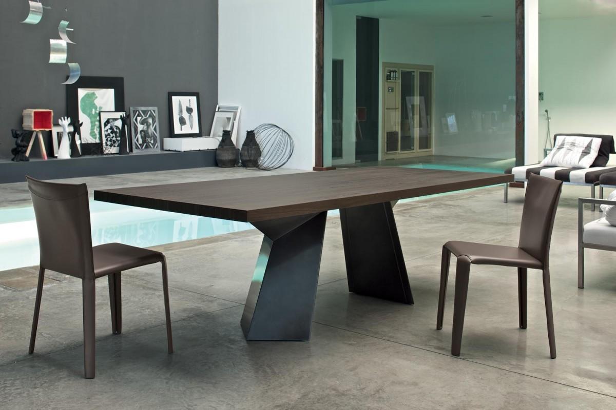Sedia Moderna Cuoio Dalila Bontempi : Sedia con struttura in acciaio completamente rivestita