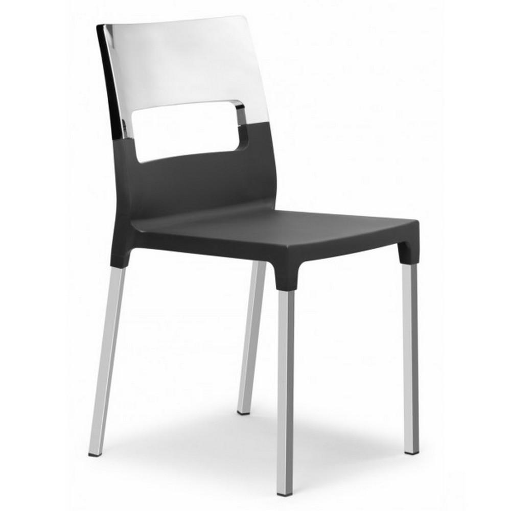 Sedia diva star in tecnopolimero con fibra di vetro e - La sedia di design ...