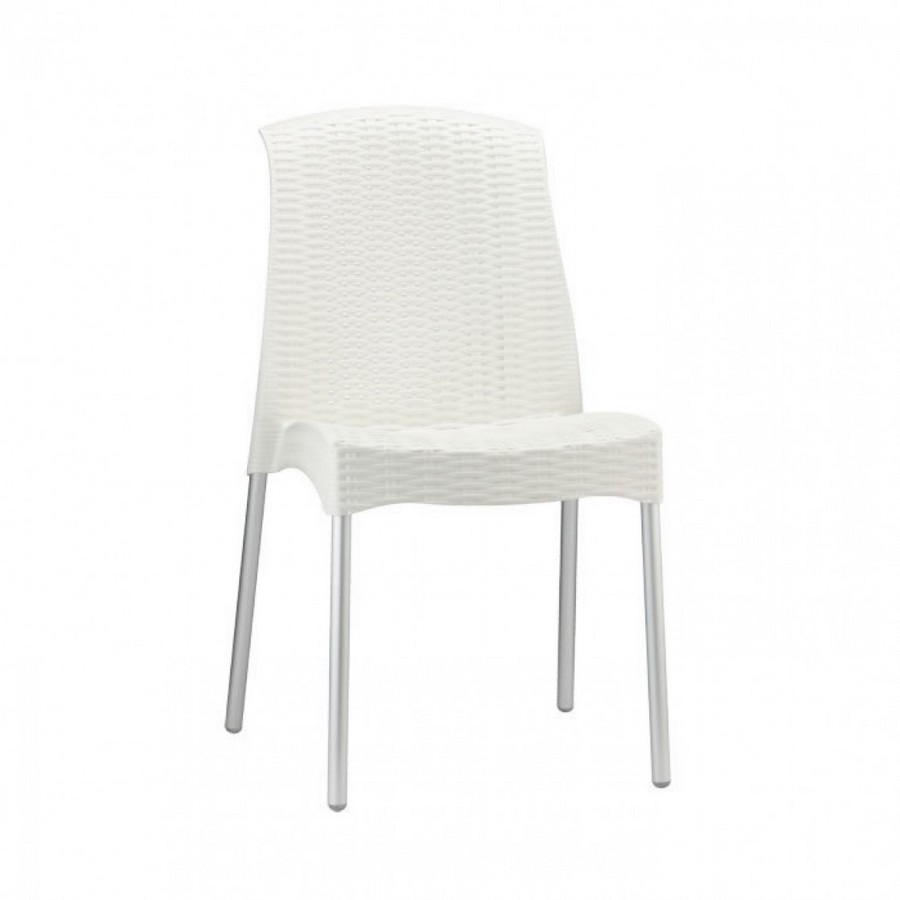 Sedia in plastica Olimpia Chair di Scab Design impilabile