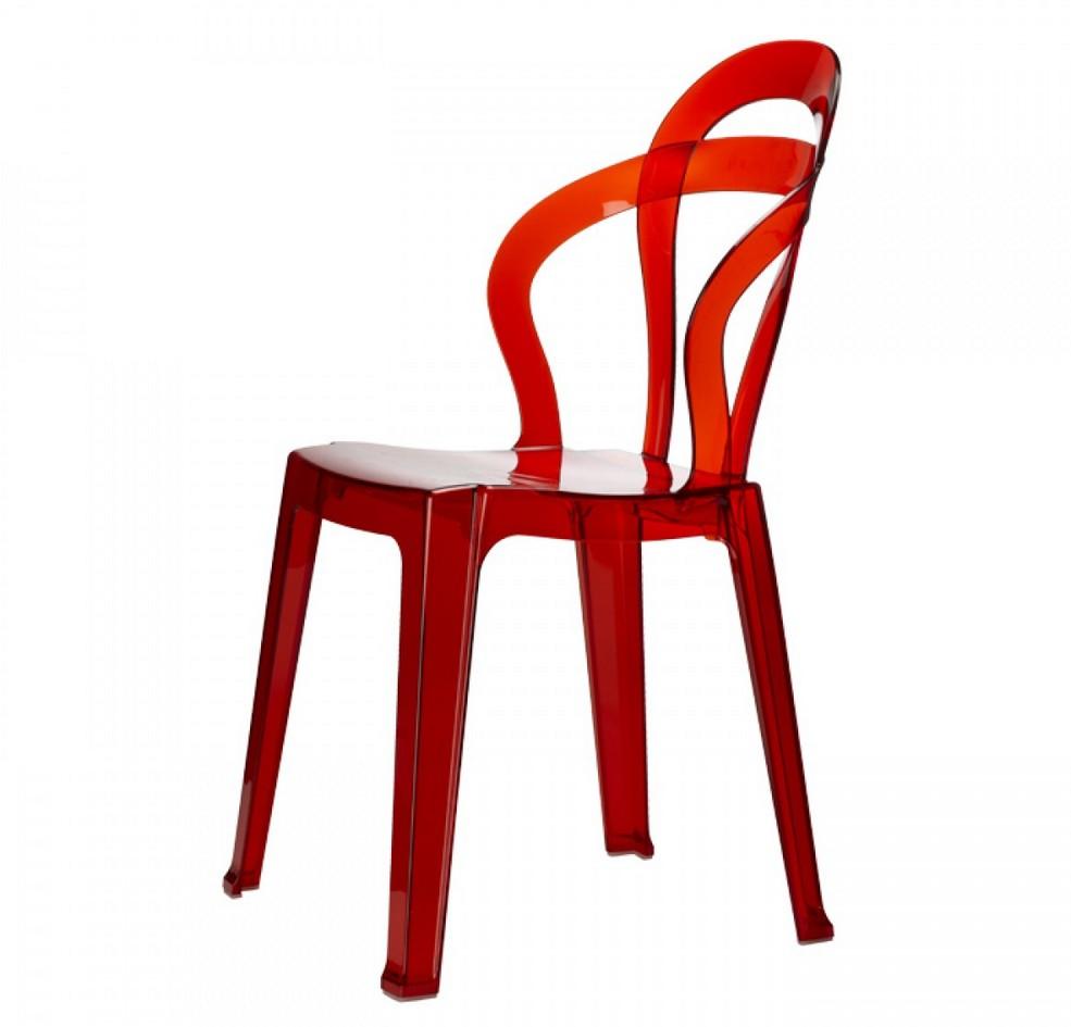 Sedia tit di scab design impilabile in plastica in for Sedia di design
