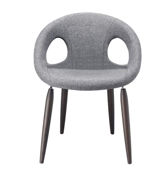 Chaise rembourrée et couvert naturel Goutte Pop Scab Design avec
