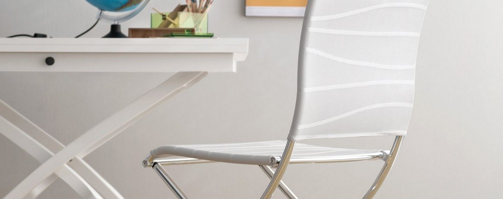 Air Folding Chair Folding Calligaris metal net and network more finishes