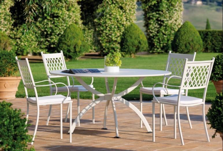 Sedie Da Giardino In Ferro : Sedia summertime di vermobil in ferro per esterno impilabile
