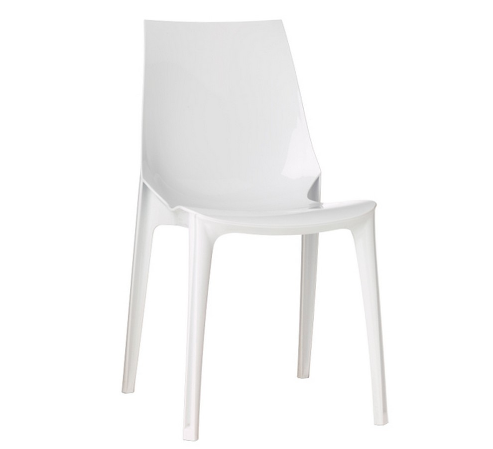Plastic stacking chair Vanity by Scab Design Chair for indoor / estrno