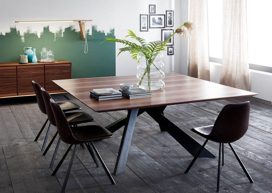 Sedie Di Metallo Vintage : Sedia wally di altacorte in metallo e cuoio