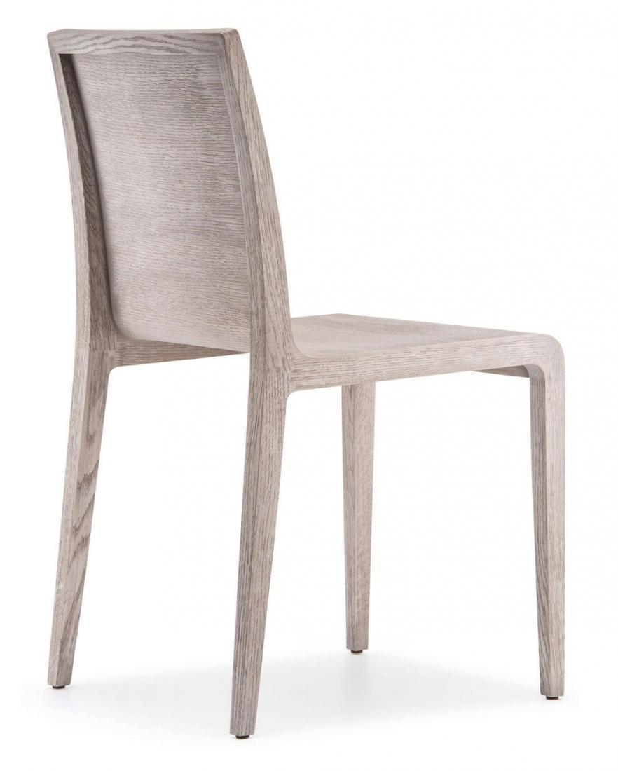 sedia young 420 in legno multistrato curvato in varie finiture