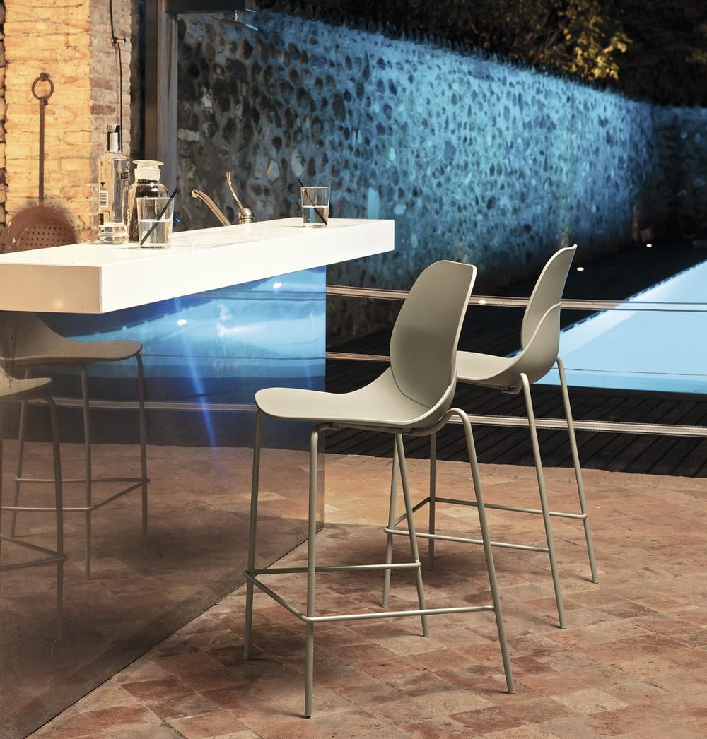 Sgabelli bar, sgabelli design fissi girevoli, da cucina - Bontempi