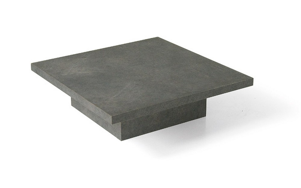 Tavolino da salotto con piano e struttura in laminato for Tavolini da salotto bianchi