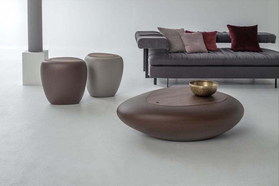 Tavolino da salotto moderno e di design kos di tonin casa - Tavolini tonin casa ...