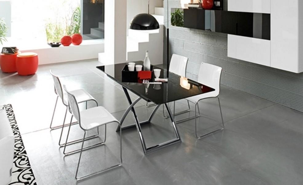 Tavolino connubia magik j trasformabile allungabile - Altezza tavoli da pranzo ...