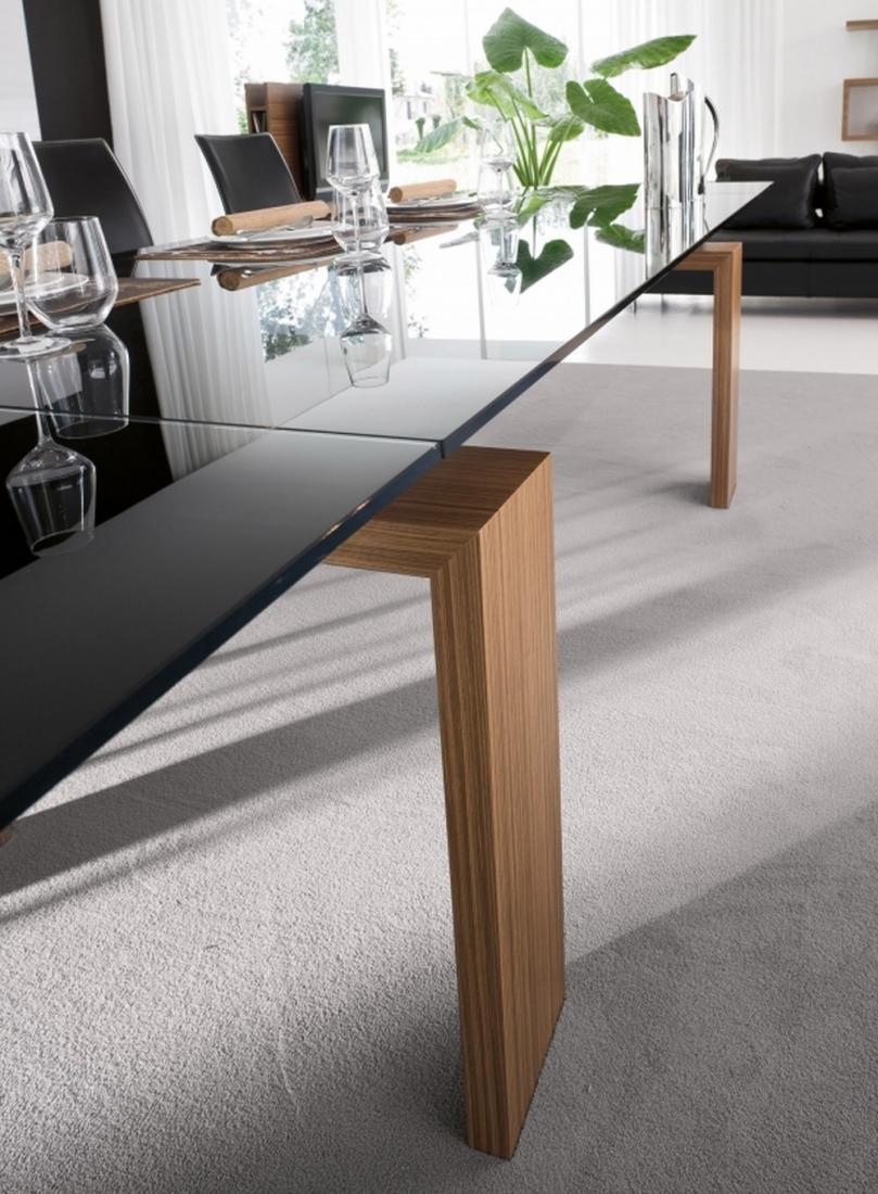 Tavolo brooklyn di tonin casa fisso o allungabile in diverse dimensioni - Dimensioni tavolo biliardo casa ...