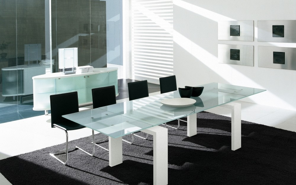 Tonin Brooklyn Table House fixed or extensible in different sizes